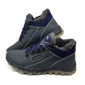Кроссовки зимние на меху Comfort Stael 92 Blue
