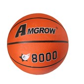 Мяч баскетбольный Amgrow 8000 №6: размер 6