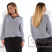 Х7320  Блуза 50-54рр 2 цвета