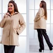 Пальто на подкладке 48-50 52-54 54-56 56-58