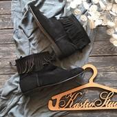 Шикарные замшевые женские ботинки M.E.K.Rows р-р 43-44