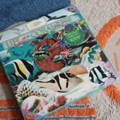Набор штампов Жизнь коралловых рифов, подводный мир, новый!