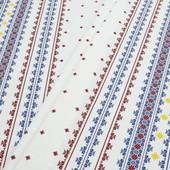 Красивая практичная скатерть 100% хлопок орнамент