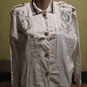 Курточка в морском стиле,хлопок,р.48-50. Stephanie.