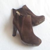 Unisa крутые кожаные ботинки 38