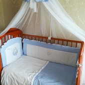 Кроватка Klups с ящиком (Польша) + полный комплект + подарок!