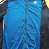 Кофта олимпийка фирменная Adidas р.48L