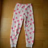 122-128 см Primark теплющие пижамные штаны по дому  Длина - 77 см, шаговый - 52 см, пояс 27-36 см, б