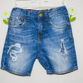 Шорты джинсовые 5-6 лет