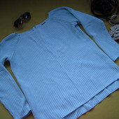 Красивый свитер,джемпер с замочком сзади,удлинённая спинка,Esmara,р.L