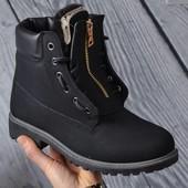 Ботинки на меху новые размер 38 и 39