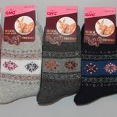 Носки женские ангора-махра за 5 пар 35-38 и 39-42 размер