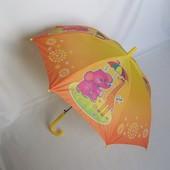Яркий зонт для малышей до 6 лет