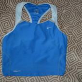 спортивный женский топ Nike fit оригинал размер XS-S отл сост