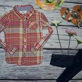 2 - 3 года 98 см H&M Очень модная фирменная рубашка девочке клетка