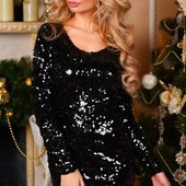 Стильное вечернее женское платье