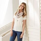 Для модного повседневного комбинирования – футболка из льняного трикотажа от Tchibo, Германия