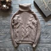 Тёплый шерстяной свитер M&S р-р М