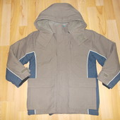 27 куртка зимова розмір 122 см.