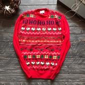 Мужской новогодний свитер George р-р M