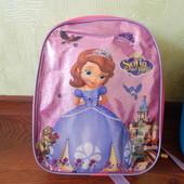 Детский рюкзак с 3Д рисунком София Прекрасная