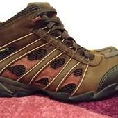 Кожаные термоботинки, ботинки clarks 39р (uk 6d,) мембрана gore-tex
