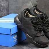 Зимние мужские кроссовки Adidas Terrex black