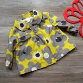 Ветровка, куртка в цветы Next (3-6 мес)