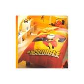 Постельное белье Tac Disney - The Inredibles 160*220 подростковое Код  2647