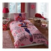 Постельное белье Tac Disney - Winx holiday bloom 160*220 подростковое Код  4244