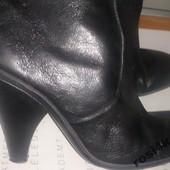 Стильные черные сапожки Nine West р37