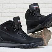 Новинка!!! зимние мужские ботинки натуральная кожа  Б-84