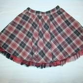 Теплая юбка на девочку 9 лет