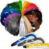 Abs пластик для печати 3д ручки 15 цветов 150 метров набор