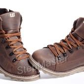 Ботинки мужские кожаные CAT Rider