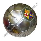 Серебристый мяч Барселона FCB с автографами игроков (1939)