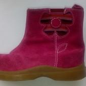 Замшевые демисезонные ботинки ботиночки  Kid smart
