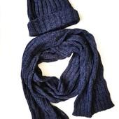 Комплект шапка и шарф тсм tchibo, размер универсальный