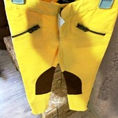 Джинсы желтые лосины скини узкие Ralph Lauren 4 года