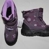 Р 32,33,34,35 зимние сапоги, ботинки. ТЕРМо. польша. на мембране