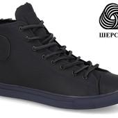 Кеды мужские кожаные ботинки конверсы