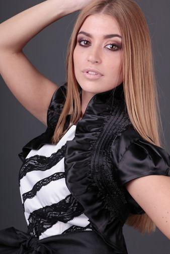 Новое атлАсное чёрное болеро V&S декорировано рюшами и сборками  на любое платье или гольф фото №1
