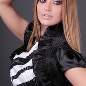 Новое атлАсное чёрное болеро V&S декорировано рюшами и сборками  на любое платье или гольф