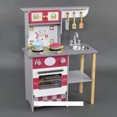 Кухня детская деревянная высокая 84 см С 23049