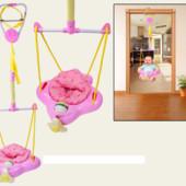 Прыгунки -качель A-BF188 розовые