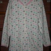 Пижама флисовая, размер ХL, рост до 170 см
