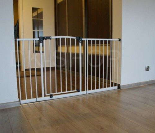 Ворота безопасности - барьер ограждение на лестницу(брамка) фото №1