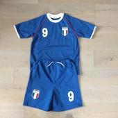 Футбольна форма Italia на 7 р. ріст 122 см. стан нової