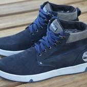 мужские зимние кожаные  ботинки код:  Timbеrland 32с