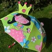 Детский 3D зонтик Принцесса, огромный выбор в наличии